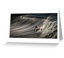 Bells Beach Surfer Australia Greeting Card