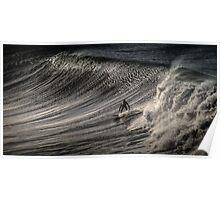 Bells Beach Surfer Australia Poster