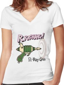 Raygun R Women's Fitted V-Neck T-Shirt