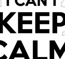 I cant keep calm Im a SCHWARTZ Sticker