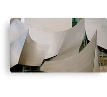 Walt Disney Concert Hall 2 Canvas Print