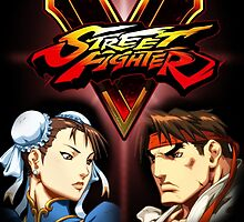 Street Fighter - Chun-li & Ryu by PharisaicalJesu