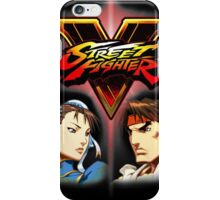 Street Fighter - Chun-li & Ryu iPhone Case/Skin