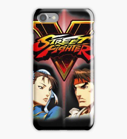 Street Fighter - Chun-li & Ryu iPhone Case/Skin