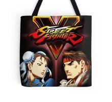 Street Fighter - Chun-li & Ryu Tote Bag