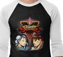 Street Fighter - Chun-li & Ryu Men's Baseball ¾ T-Shirt