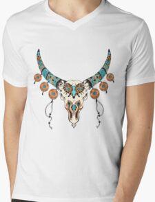 indian (skull) Mens V-Neck T-Shirt