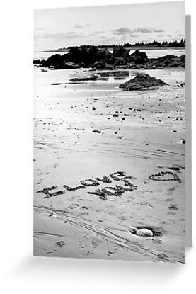 Love On The Beach by Scott Ruhs
