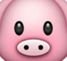 Pig Emoji Sticker