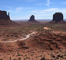 Monument Valley by safariboy