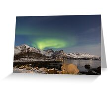 Lofoten Aurora Greeting Card