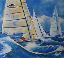 Rough Seas by Peter Evans