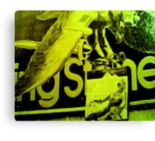 Rolling Stones World Tour: 42nd Street Billboard Canvas Print