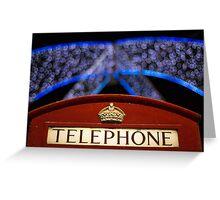 A Christmas Light Box Greeting Card