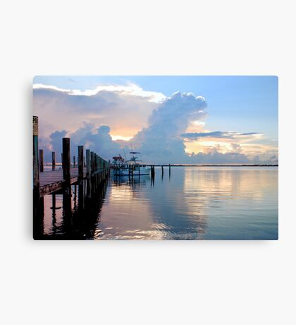 A Day For Fishing Canvas Print