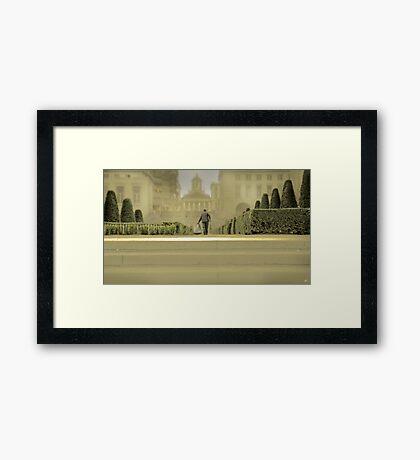 Brussels Gardener Framed Print