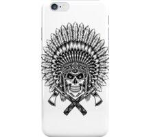 indian (skull) iPhone Case/Skin