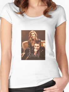 OLICITY Women's Fitted Scoop T-Shirt