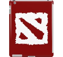 Dota 2 Logo White iPad Case/Skin