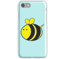 Cute little bumble fat bee iPhone Case/Skin
