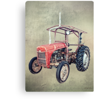 Grey Fergie Tractor  Canvas Print