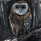 Upright Owl by WoolleyWorld