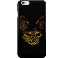 Bad kitty kitty iPhone Case/Skin