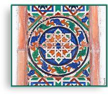 Azulejo chipionero Canvas Print