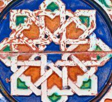 Azulejo chipionero Sticker