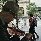 Violinist by MichaelCouacaud