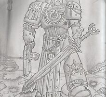 Veteran Space Marine (from codex) by RadTastiC