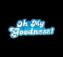 Oh my goodness! in blue distressed by jazzydevil