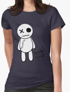 death doll X Womens Fitted T-Shirt