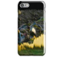 Yellow Electric Landscape iPhone Case/Skin