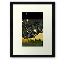 Yellow Electric Landscape Framed Print