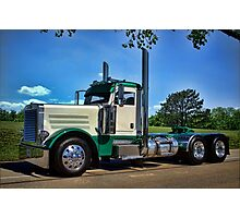 Peterbilt Semi Truck Photographic Print