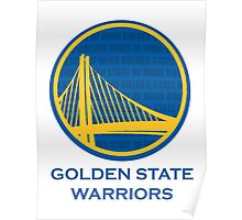 WARRIORS - GOLDEN STATE OF MIND Poster