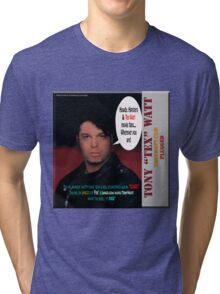 "The Tony 'Tex' Watt Jango Radio ""Plugged"" Album Promo Tri-blend T-Shirt"