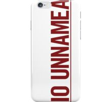 Radio Unnameable iPhone Case/Skin