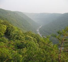 New River Gorge by heidiboo