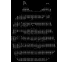 ASCII Doge Photographic Print