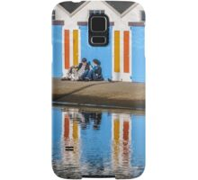 Relaxing at the Boat Sheds Samsung Galaxy Case/Skin