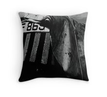 Terrence the tormented tractor Throw Pillow