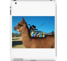 Sleeping Alpaca Gaucho iPad Case/Skin