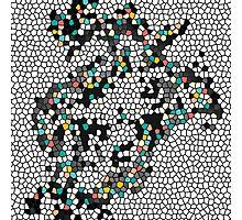 mosaic maker Photographic Print