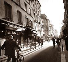 Rue Mouffetard by Douzy
