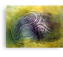 Enhanced Aum - II Canvas Print