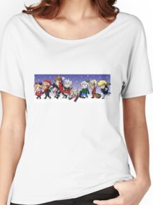Yu-Gi-Oh! Christmas  Women's Relaxed Fit T-Shirt