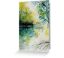 WATERCOLOR 130605 Greeting Card