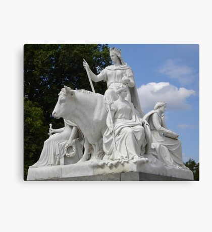 Scultpure (Europe) - HydePark-London Canvas Print